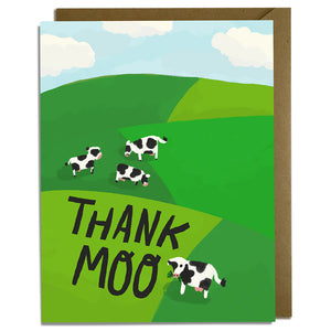 Thank Moo - Thank You Card