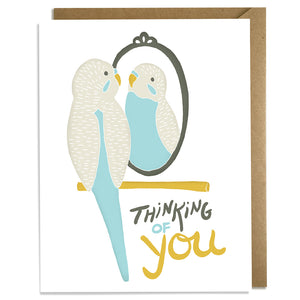 Thinking of You Bird - Love & Friendship Card