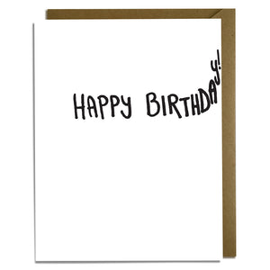 Tight Birthday Card Wholesale