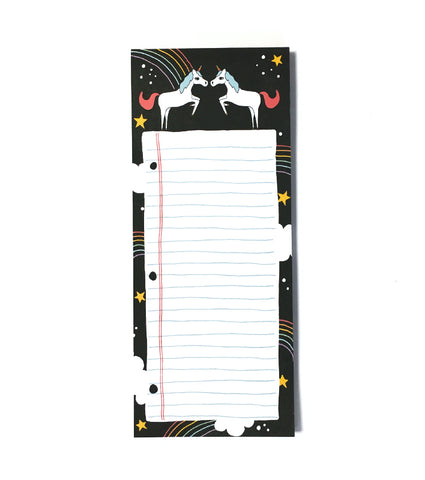 Unicorn Market List Notepad