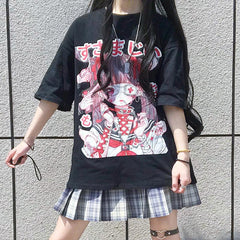 Harajuku Anime T-Shirt - QuteShop