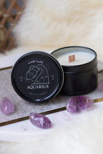 Zodiac Crystal Candles