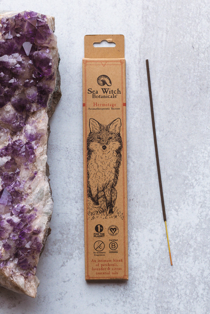 Hermitage: Patchouli, Lavender, & Citrus Incense Sticks