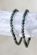 Kambaba Jasper Beaded Bracelet - 4mm