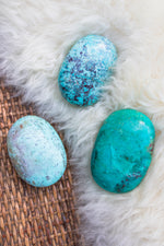 Turquoise Palm Stone