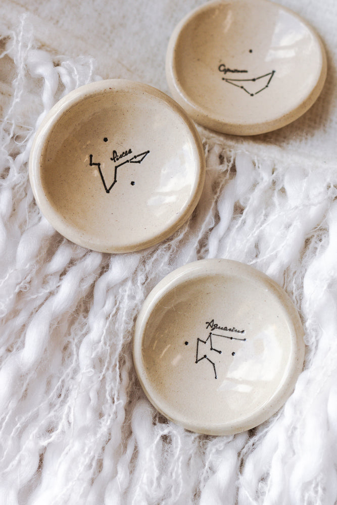 Zodiac Constellation Ring Dishes