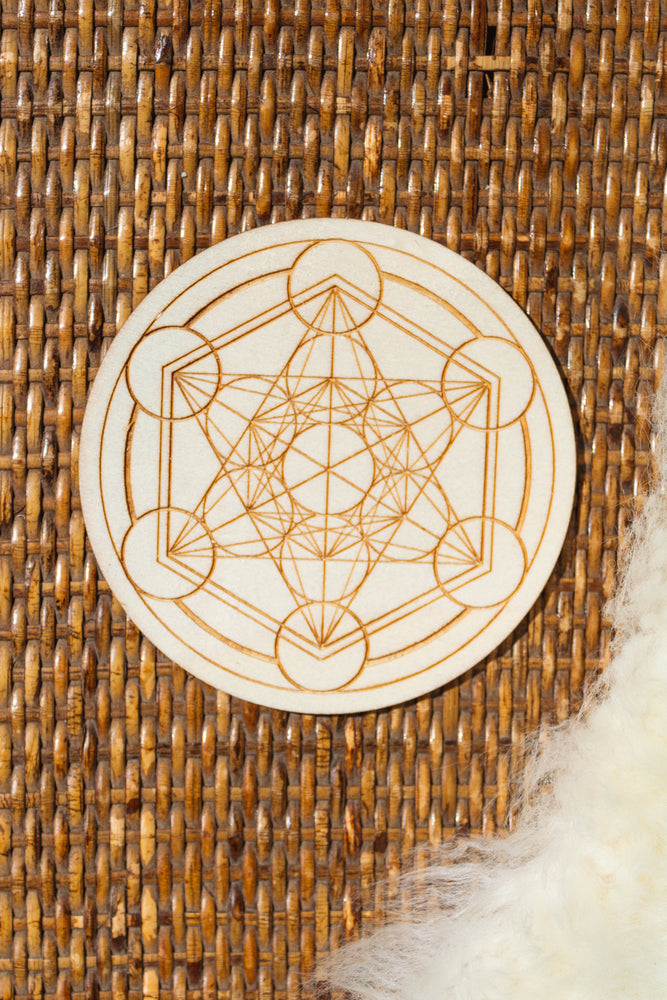 Mini Metatron's Cube Crystal Grid