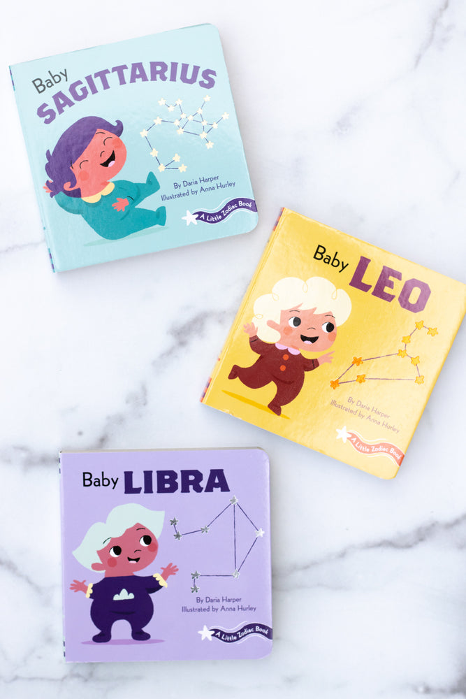 Little Zodiac Board Book Series