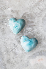 Small Larimar Heart