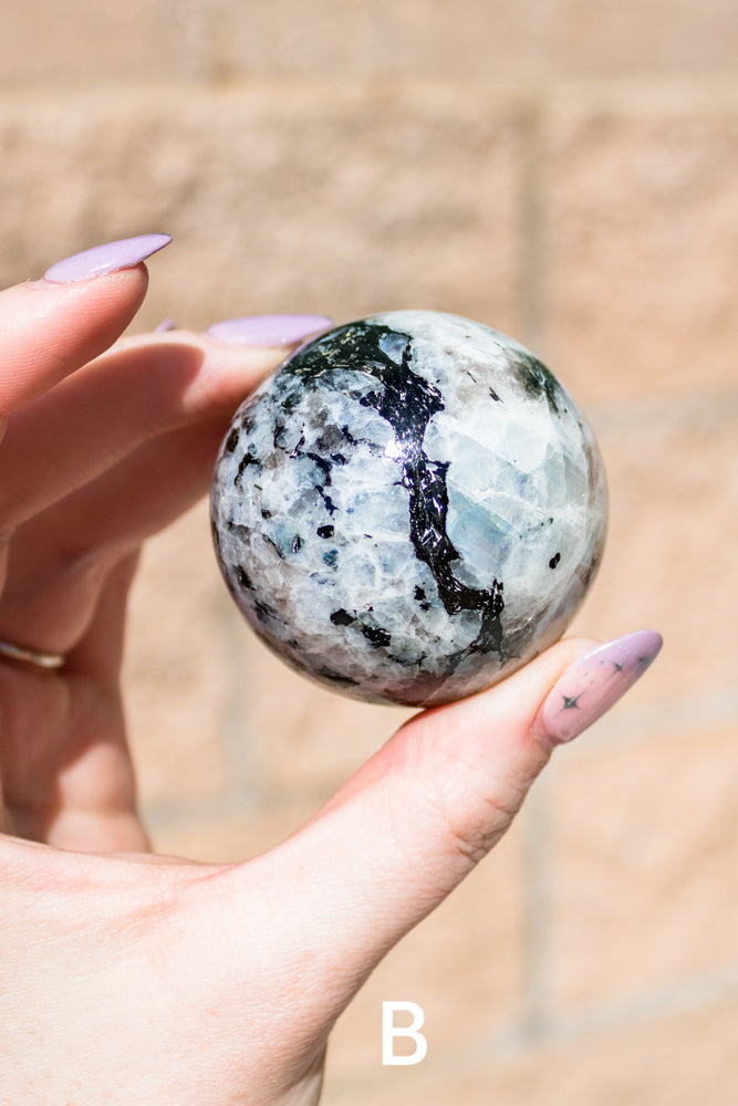 Rutilated Quartz Tear Drop