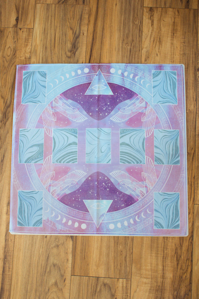 The Sacred Forms Tarot Mat