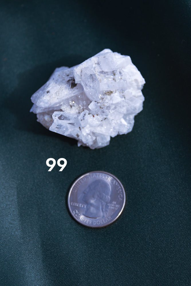 Small Danburite Clusters