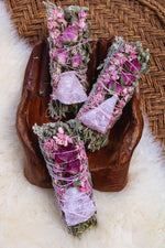 Open Heart Crystal Herbal Bundle