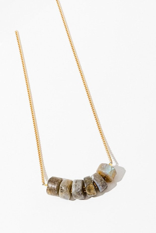 Labradorite August Necklace