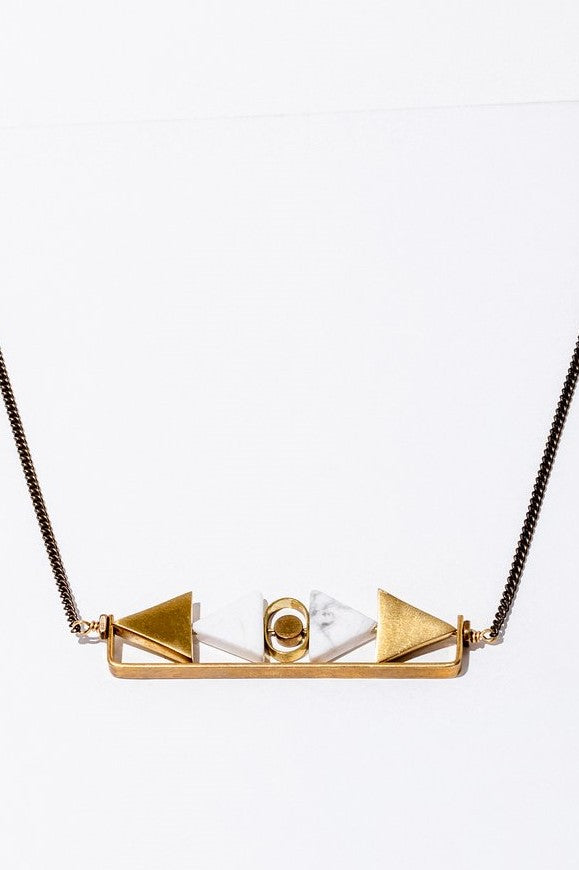 Howlite Aero Necklace
