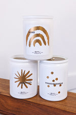 Winter White Candle Collection