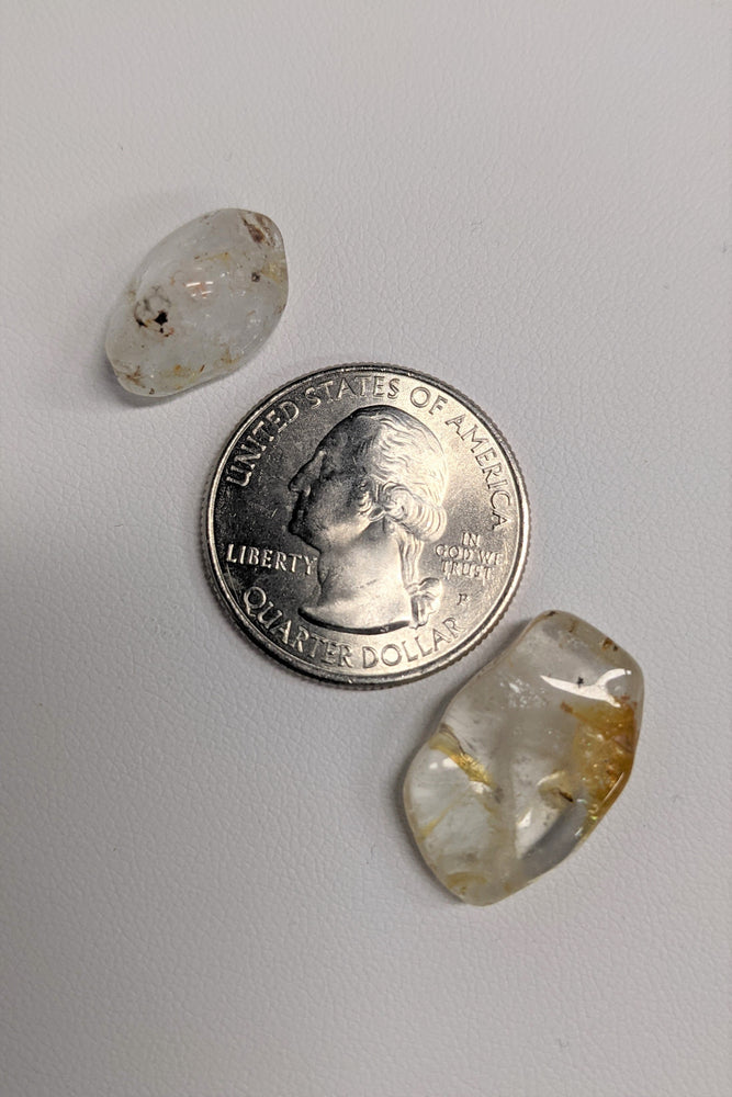 Topaz Tumbled Chip