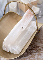 Selenite Logs (Set of 3) - Selene Stone