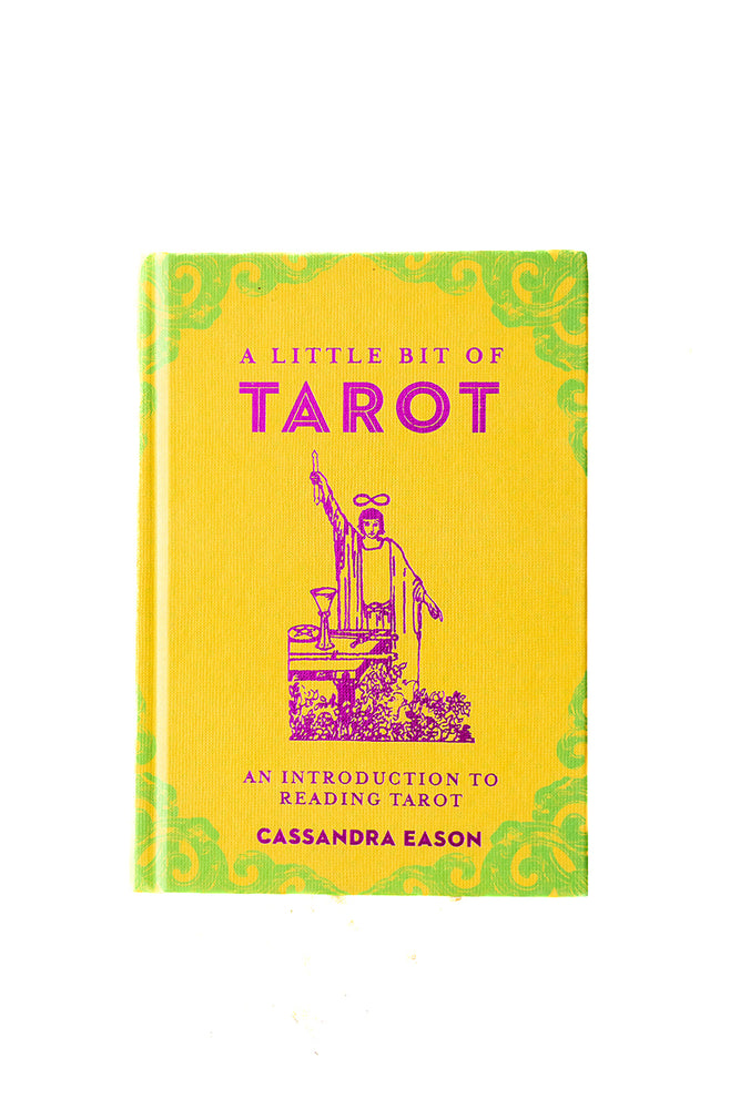 A Little Bit of Tarot: An Introduction to Reading Tarot by Cassandra Eason - Selene Stone