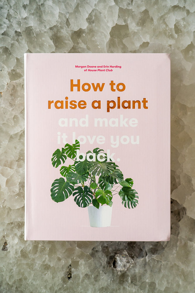 How to Raise a Plant: and Make it Love You Back by Morgan Doane & Erin Harding - Selene Stone