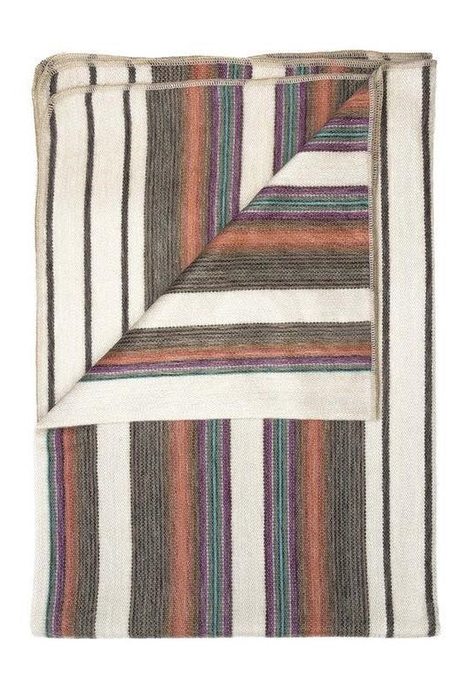 Oasis Alpaca Throw Blanket