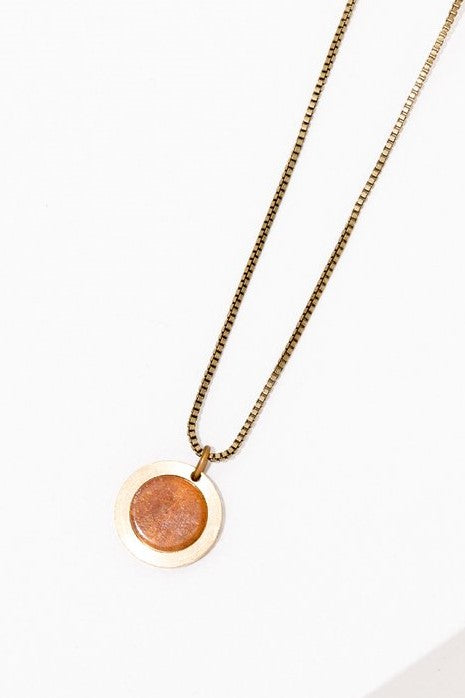 Brene Sunstone Necklace