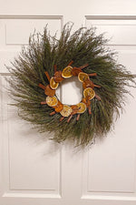 Dried Holiday Wreath