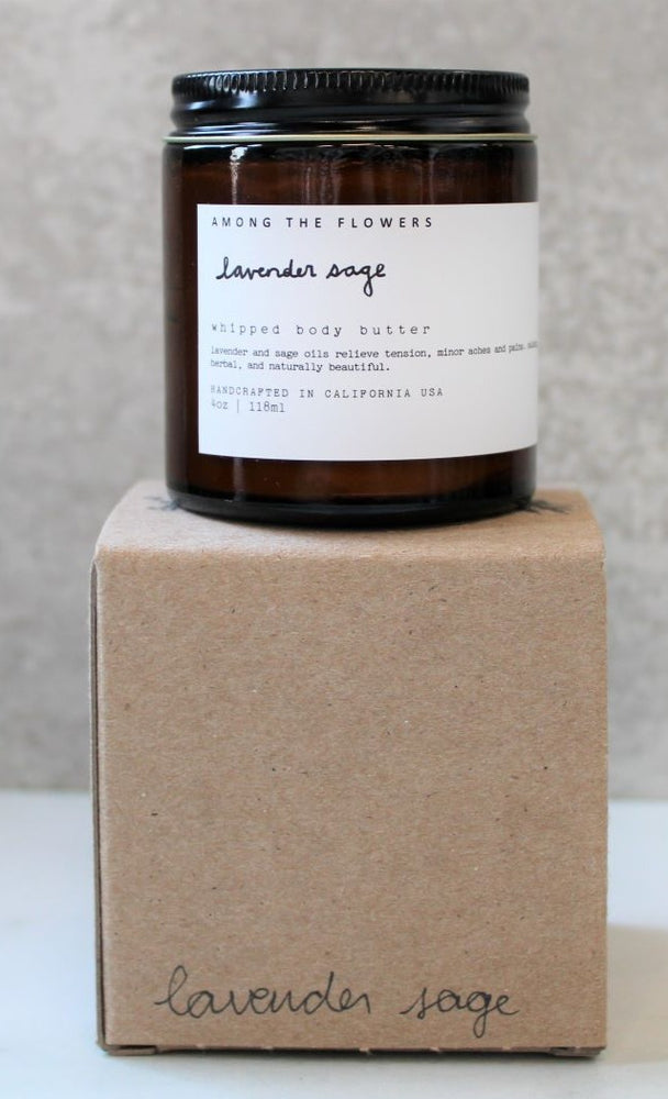 Lavender Sage Whipped Body Butter
