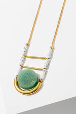 Green Aventurine Vivant Necklace