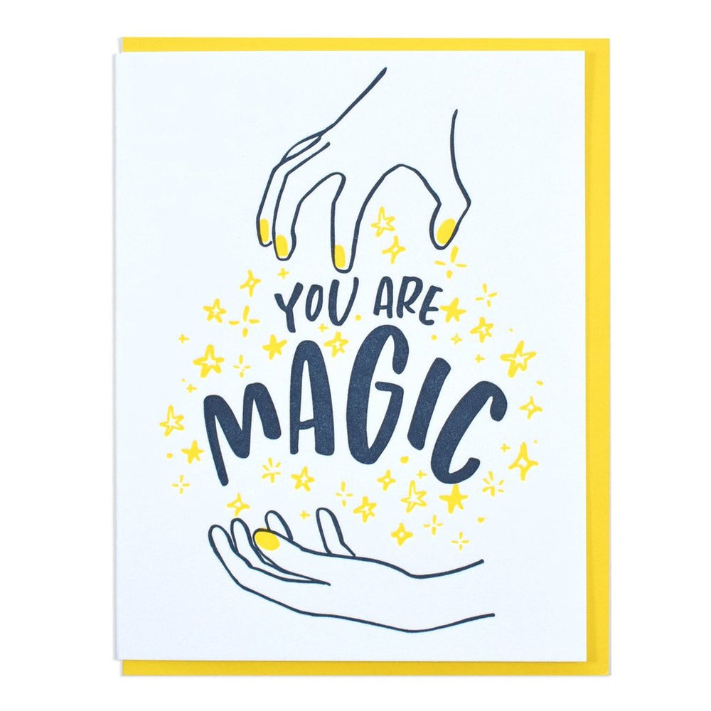 You Are Magic Card - Selene Stone