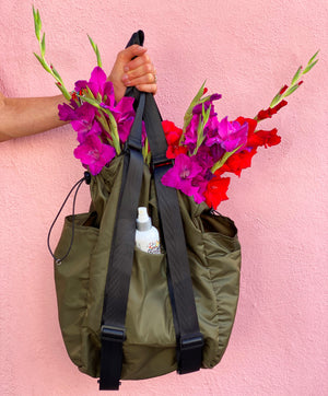 Convertible Tote to backpack