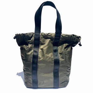 Escape Sack - convertible tote to backpack. Ultra lightweight Carryall nylon tote