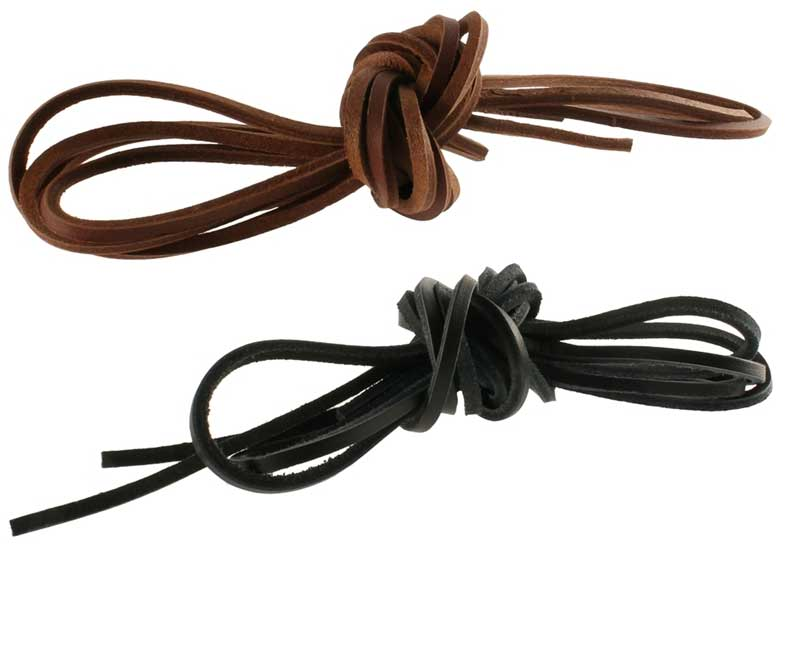 SHOE-STRING - 120CM LEATHER SHOE / SANDAL LACE TRIM FIT