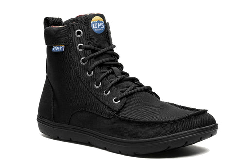 Lems Boulder Boot UK Sizes - Black VEGAN
