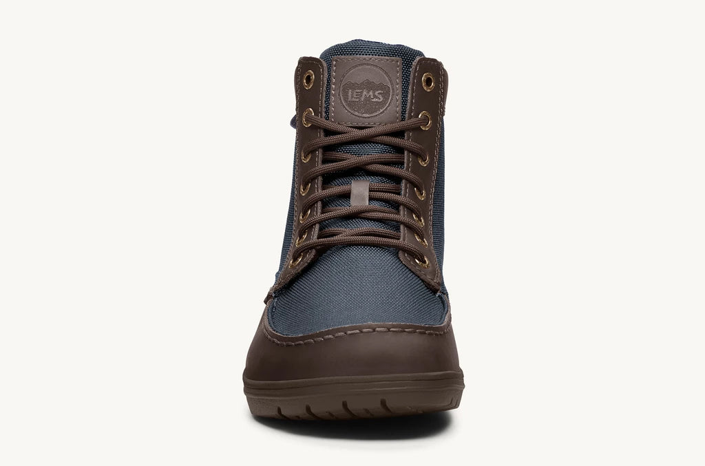 Lems Boulder Boot UK Sizes - Navy Stout