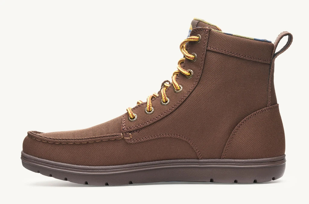 Lems Boulder Boot UK Sizes - Pinecone VEGAN