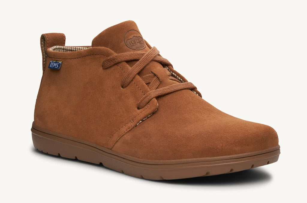 Lems Chukka Boot Suede Leather Unisex - Lions Mane