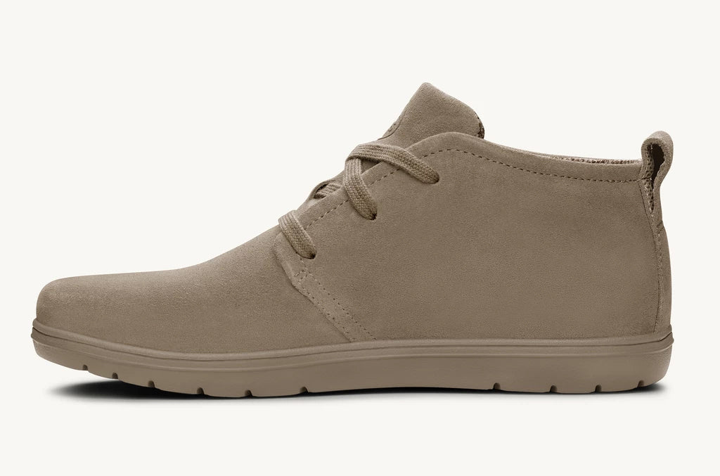 Lems Chukka Boot Suede Leather Mens - Sandstone