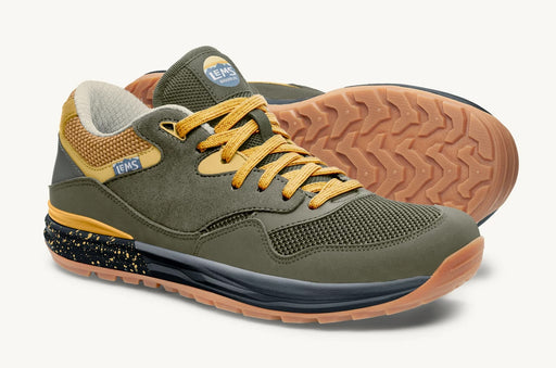 Lems Trailhead V2 Mountain to Town Retro Sneaker Mens - Sage