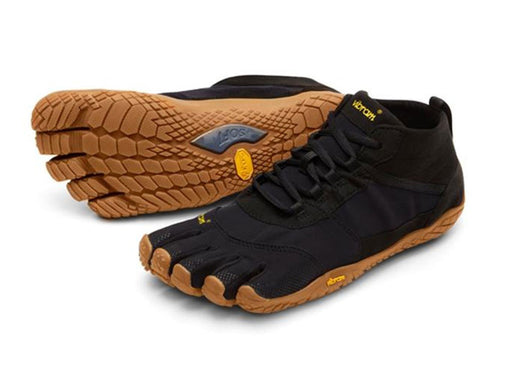 Vibram FiveFingers - V-Trek Trekking Off Road Run Mens - Black Gum
