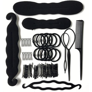 79Pcs/Set Hair Accessories For Women's