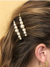 Load image into Gallery viewer, 4Pcs/Set Pearl Metal Women Hair Clip Bobby Pin Barrette Hairpin Hair Accessories