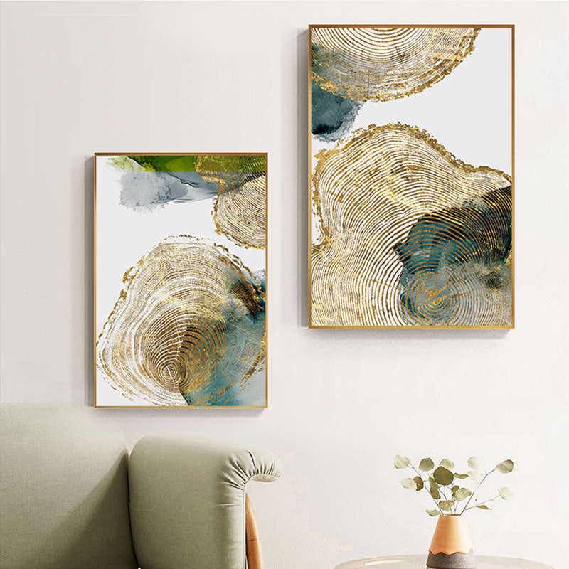 Pharady Golden Leaf Painting