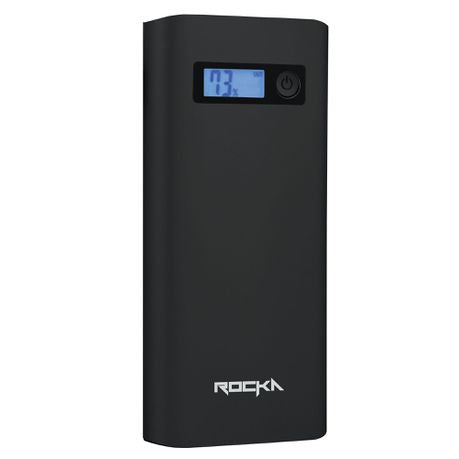 Rocka Surge Series 20800 mAh power bank - Charcoal