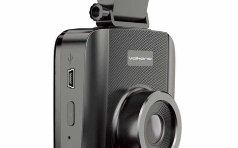 Volkano Traffic series 720p Dash Camera - black