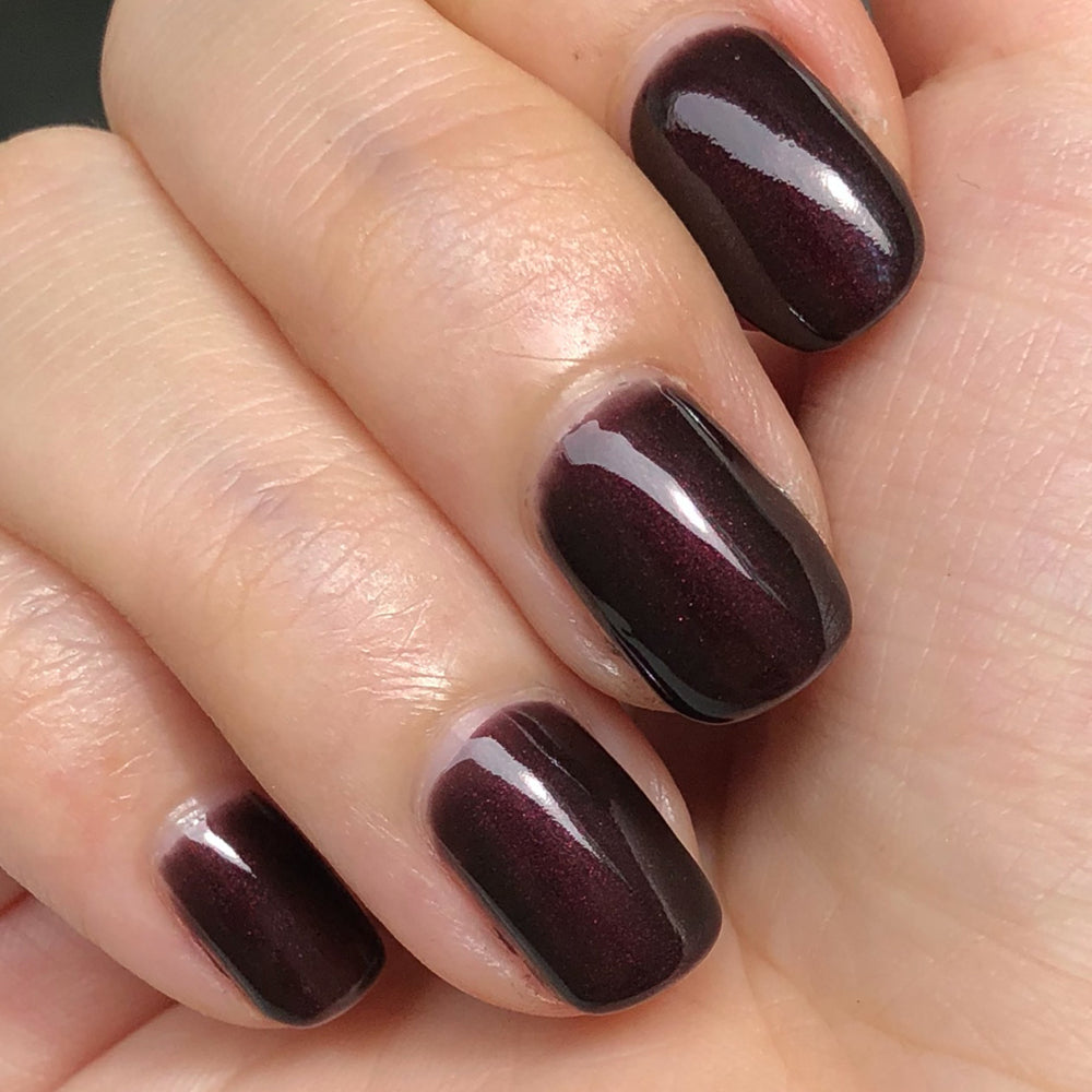 Garnet Peel-off Gel Nail Polish (by Light Lacquer)
