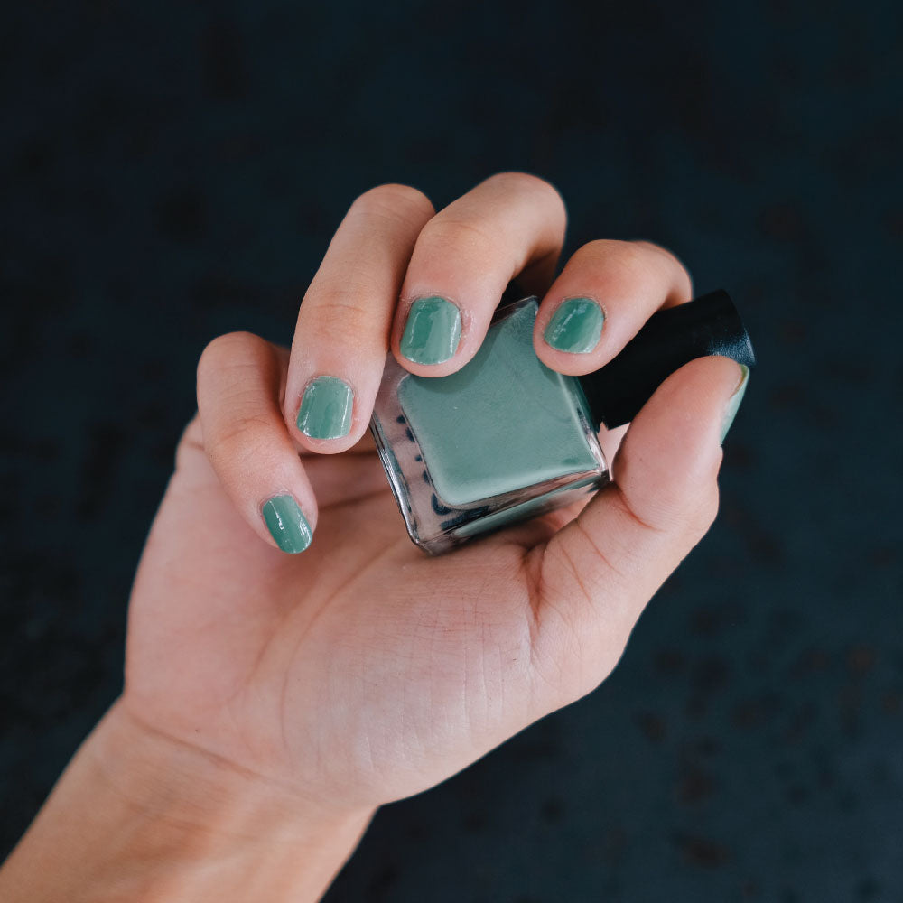 Quiet Sage Nail Polish (By Nail Deck)