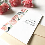 To the Best Mum in the World Watercolour Card for Mum (by Papercranes Design)