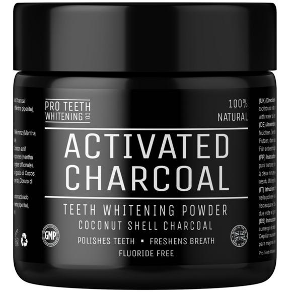 100% Natural Activated Charcoal Coconut Powder