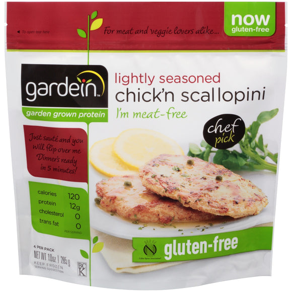 Chick'n Scallopini 352g (COLD)